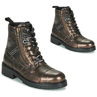 Skor Dam Boots Pepe jeans MELTING TAPE Brons