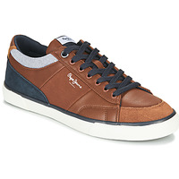 Skor Herr Sneakers Pepe jeans KENTON SPORT Brun