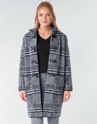 textil Dam Kappor Derhy SAISON Grå / Svart