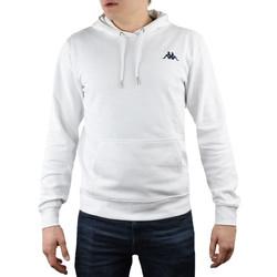 textil Herr Sweatshirts Kappa Vend Hooded Blanc