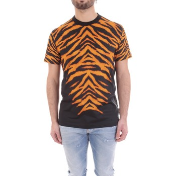textil Herr T-shirts Versace B3GVB7DF-30377 Nero