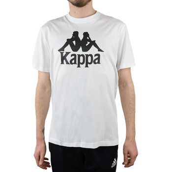 textil Herr T-shirts & Pikétröjor Kappa Caspar T-Shirt Blanc