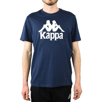 textil Herr T-shirts & Pikétröjor Kappa Caspar T-Shirt Bleu marine