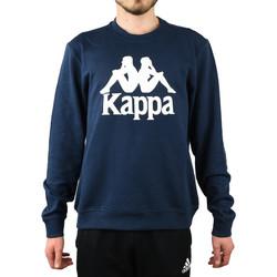 textil Herr Sweatshirts Kappa Sertum RN Sweatshirt Bleu marine