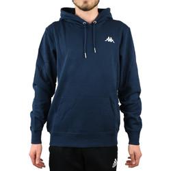 textil Herr Sweatshirts Kappa Vend Hooded Bleu marine