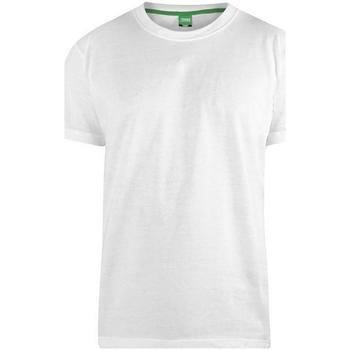 textil Herr T-shirts Duke  Vit