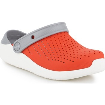Skor Barn Träskor Crocs Literide Clog K 205964-895 grey, orange