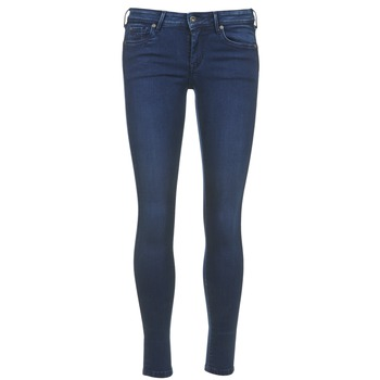 textil Dam Långshorts Pepe jeans LOLA Blå