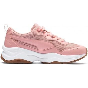 Skor Dam Sneakers Puma Cilia Vit,Beige,Rosa