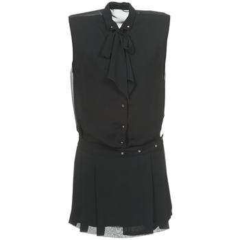 textil Dam Korta klänningar Diesel D-NEDORA-A Svart