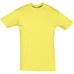 textil Herr T-shirts Sols REGENT COLORS MEN Amarillo