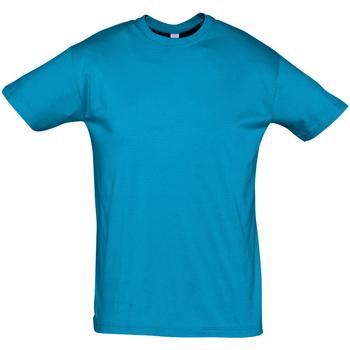 textil Herr T-shirts Sols REGENT COLORS MEN Azul