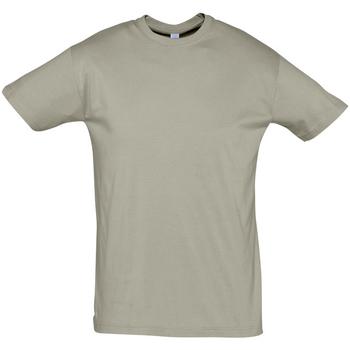 textil Herr T-shirts Sols REGENT COLORS MEN Kaki