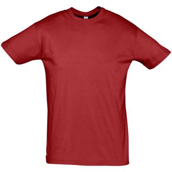 textil Herr T-shirts Sols REGENT COLORS MEN Rojo
