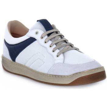 Skor Herr Sneakers Frau TECNO WHITE Bianco