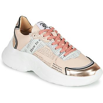 Skor Dam Sneakers John Galliano 3645 Rosa