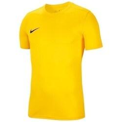 textil Pojkar T-shirts Nike JR Dry Park Vii Gula