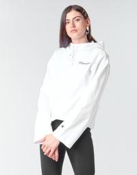 textil Dam Sweatshirts Champion HEAVY COMBED COTTON FLEECE Vit