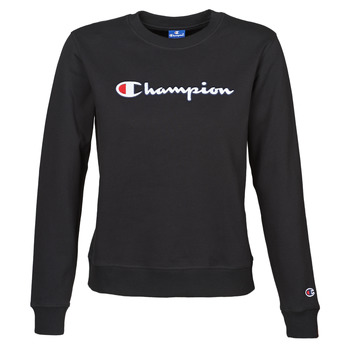 textil Dam Sweatshirts Champion HEAVY COMBED COTTON FLEECE Svart