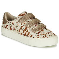Skor Dam Sneakers No Name ARCADE STRAPS Beige
