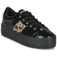 Skor Dam Sneakers No Name PLATO M DERBY Svart