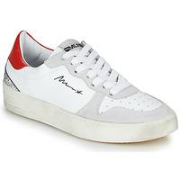 Skor Dam Sneakers Meline STRA5007 Vit / Röd