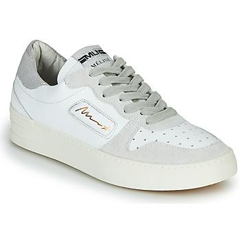 Skor Dam Sneakers Meline STRA-A-1060 Vit / Beige