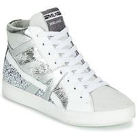 Skor Dam Höga sneakers Meline IN1363 Vit / Silverfärgad