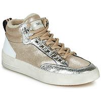 Skor Dam Höga sneakers Meline STRA5056 Beige / Guldfärgad