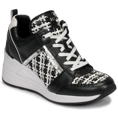Skor Dam Sneakers MICHAEL Michael Kors GEORGIE TRAINER Svart / Vit