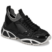 Skor Herr Sneakers MICHAEL Michael Kors LUCAS Svart / Vit