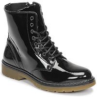 Skor Flickor Boots Bullboxer AOL501E6LGBKPT Svart