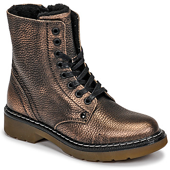 Skor Flickor Boots Bullboxer AOL501E6LGCHAM Brons