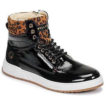 Skor Flickor Höga sneakers Bullboxer AOF503E6L-BLCK Svart