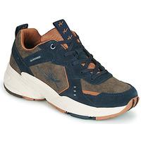 Skor Dam Sneakers Allrounder by Mephisto DEVINA Kaki / Marin