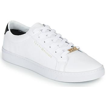 Skor Dam Sneakers Tommy Hilfiger CUPSOLE SNEAKER Vit