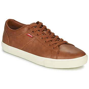 Skor Herr Sneakers Levi's WOODWARD Brun