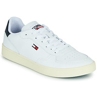 Skor Herr Sneakers Tommy Jeans TOMMY JEANS ESSENTIAL CUPSOLE Vit