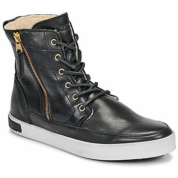 Skor Dam Höga sneakers Blackstone  Svart