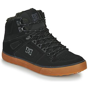 Skor Herr Höga sneakers DC Shoes PURE HT WC WNT M Svart