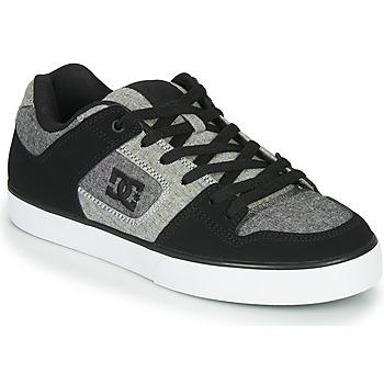 Skor Herr Sneakers DC Shoes PURE Svart / Grå