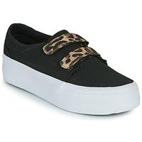Skor Dam Höga sneakers DC Shoes TRASE PLATEFORM V Svart / Leopard