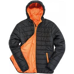 textil Herr Täckjackor Result R233M Svart/orange