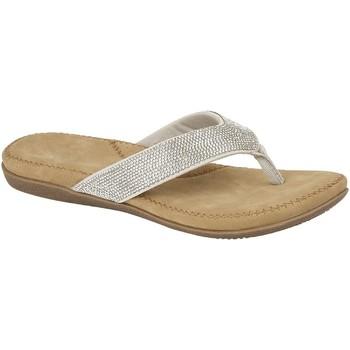 Skor Dam Flip-flops Cipriata  Silver
