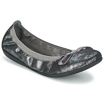 Skor Dam Ballerinor LPB Shoes ELLA METAL Silverfärgad