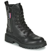 Skor Barn Boots Tommy Hilfiger  Svart