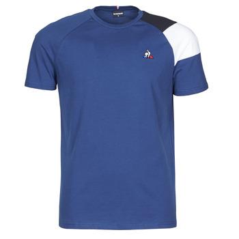 textil Herr T-shirts Le Coq Sportif ESS TEE SS N°10 M Blå