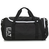 Väskor Sportväskor Emporio Armani EA7 TRAIN CORE U GYM BAG SMALL Svart / Vit