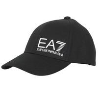 Accessoarer Herr Keps Emporio Armani EA7 TRAIN CORE ID M LOGO CAP Svart