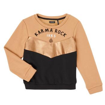textil Flickor Sweatshirts Ikks XR15012 Brun